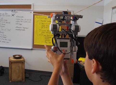 Montage d'un robot en classe