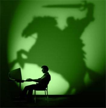Un jeune se met dans la peau d'un héro en jouant à un jeu vidéo